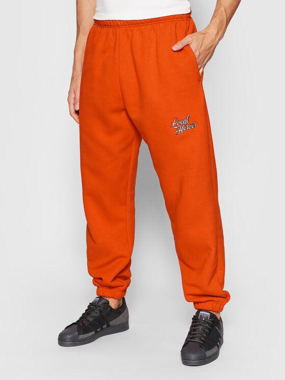 Spodnie dresowe Nostalgic AW21P0071 Czerwony Regular Fit
