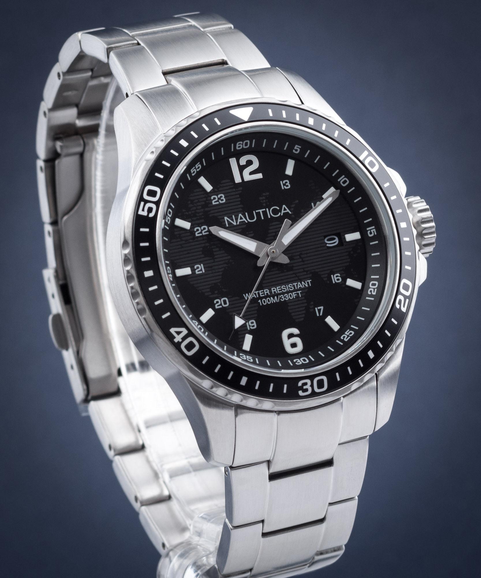 Zegarek Nautica NAPFRB014 - CENA DO NEGOCJACJI - DOSTAWA DHL GRATIS, KUPUJ BEZ RYZYKA - 100 dni na zwrot, możliwość wygrawerowania dowolnego tekstu.