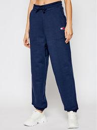 Tommy Jeans Spodnie dresowe Tjw Hrs Badge DW0DW09740 Granatowy Relaxed Fit