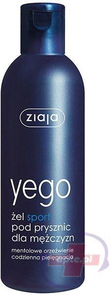 Ziaja Yego Żel pod prysznic Sport dla mężczyzn 300ml