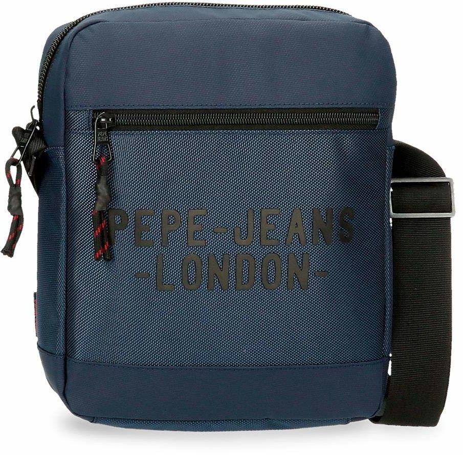 Torba na ramię do tabletu Pepe Jeans Bromley niebieska