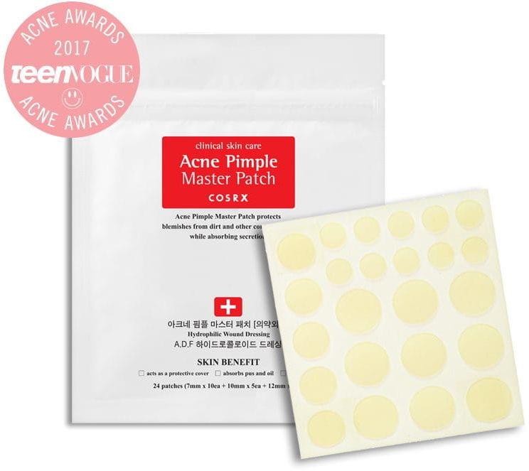 Cosrx Acne Pimple Master Patch Wysuszające plastry na wypryski - 24 szt.