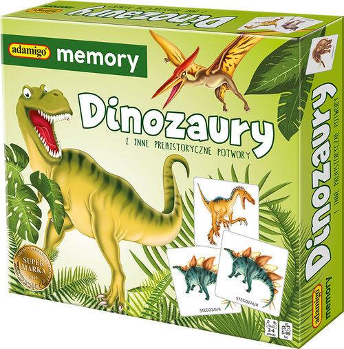 Dinozaury i inne prehistoryczne potwory memory ZAKŁADKA DO KSIĄŻEK GRATIS DO KAŻDEGO ZAMÓWIENIA