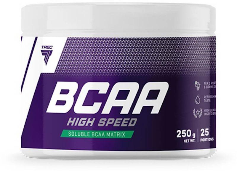 TREC BCAA High Speed (Aminokwasy) 250g Cytryna