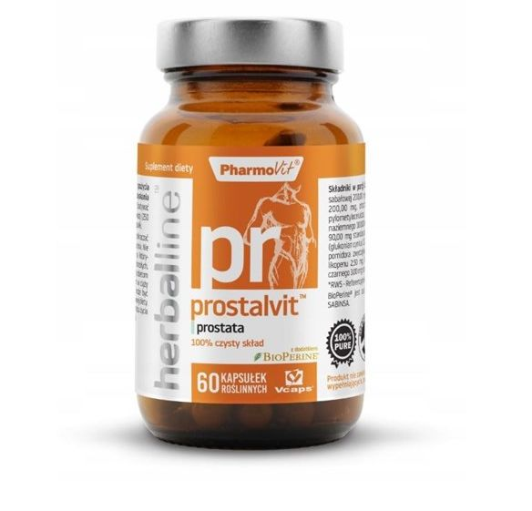 Herballine Prostalvit 60kap