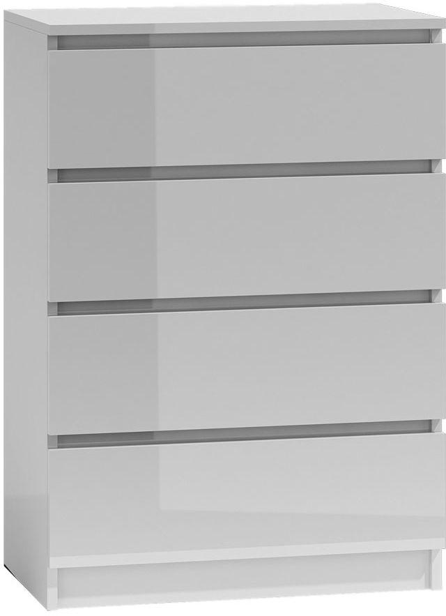 Biała komoda w stylu nowoczesnym - Letia