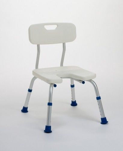 Vermeiren Krzesło prysznicowe z wycięciem higienicznym MELBOURNE