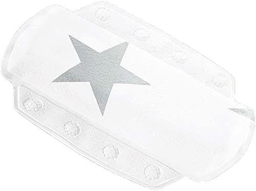 Kleine Wolke Stars poduszka pod kark, pianka PCW, srebrnoszara, 32 x 22 cm