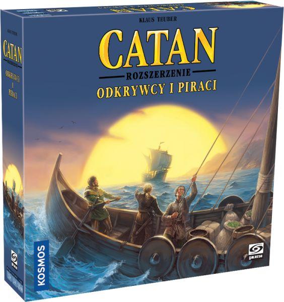 Catan: Odkrywcy i Piraci ZAKŁADKA DO KSIĄŻEK GRATIS DO KAŻDEGO ZAMÓWIENIA