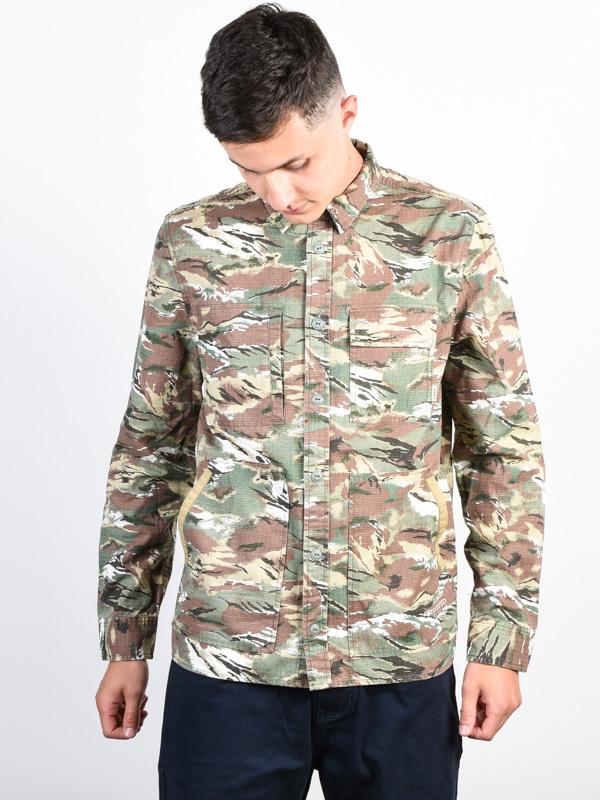 Element BATTLEFIELD SAWTOOTH CAMO koszulka z długim rękawem męska - M