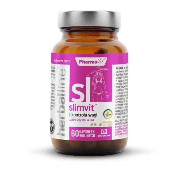 Herballine Slimvit 60kap