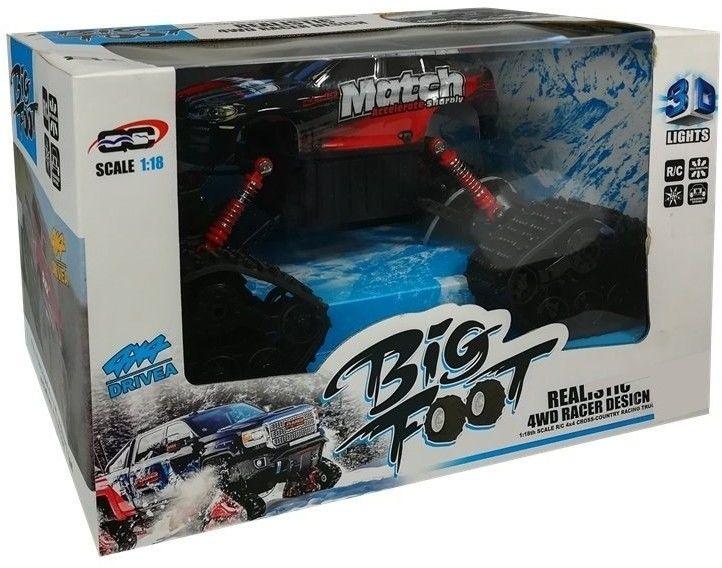 Monster Truck Czerwony
