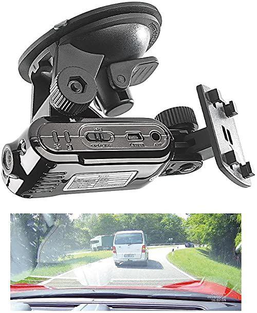 """Somikon kamera na deskę rozdzielczą HD: DVR-HD kamera do kokpitu""""MDV-2700.HD"""" z uchwytem do nawigacji (kamera samochodowa HD)"""