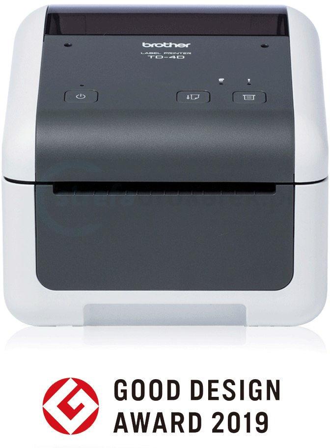 Drukarka etykiet Brother TD-4410D 203 DPI do 118 mm PC: USB KUP z zamiennikami i oszczędzaj! - ZADZWOŃ 730 811 399