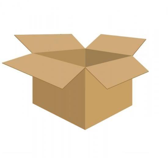 Karton klapowy tekt 5 - 700 x 670 x 610 z rączkami 730 g/m2 fala BC