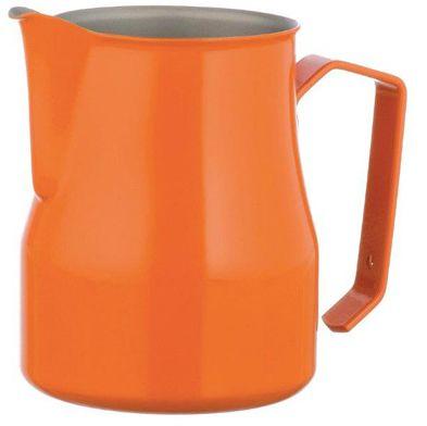 Motta dzbanek do spieniania mleka pomarańczowy 350 ml