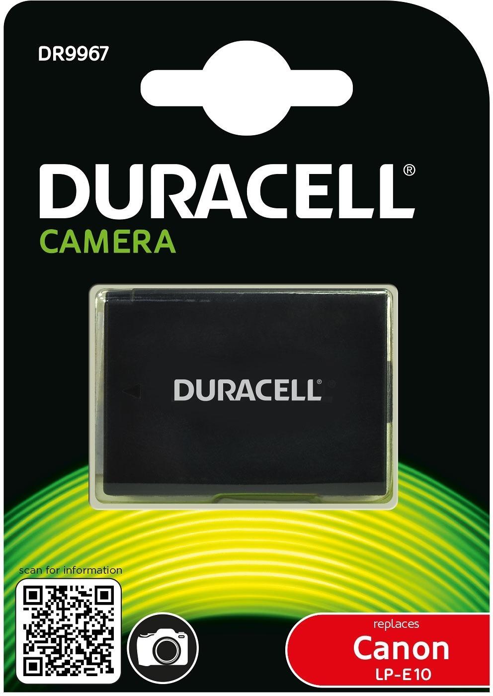 Duracell DR9967 - akumulator / zamiennik LP-E10 do Canon / 950mAh Duracell DR9967