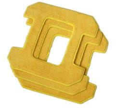 Ściereczki - szmatki do Hobot 268, 288 i 298 Żółte 3szt.