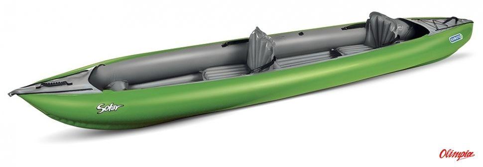 Kajak pompowany Gumotex Solar zielony