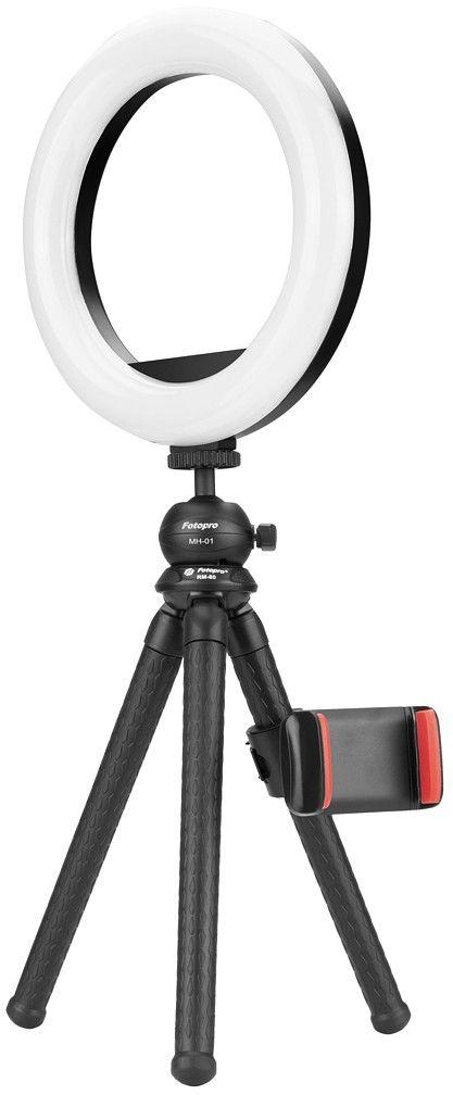 Zestaw oświetleniowy Fotopro L3 (RM-80 + AK-08 + SJ-20 + MH-01) - WYSYŁKA W 24H