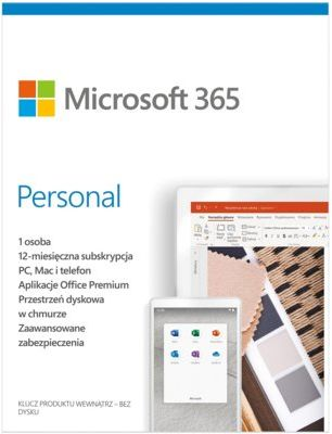 Program Microsoft 365 Personal PL 1 rok