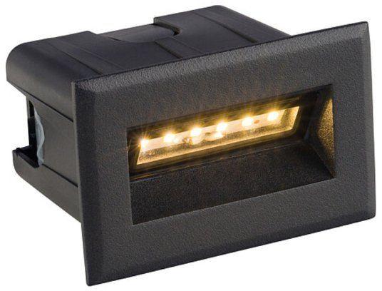 Lampa wpuszczana ścienna BAY LED S IP65 czarny