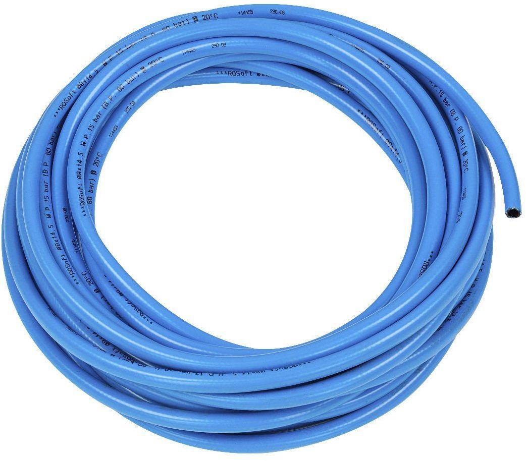 Wąż Prosty RQSoft Poliuretanowy Pneumatyczny 9,0 x 14,5mm - 15m