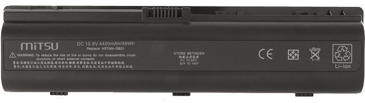 Bateria BC/HP-DV2000 do laptopa HP Presario f700 v6133cl v6133ca v6133 v6137us