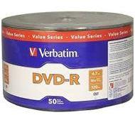Verbatim DVD-R 4.7GB x16 szpindel 50 szt
