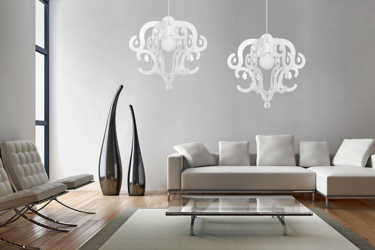 Katerina White 5208 - Nowodvorski - lampa wisząca nowoczesna
