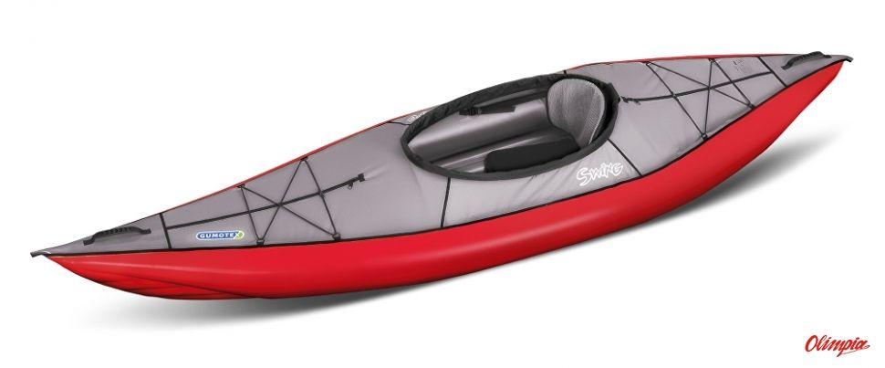 Kajak pompowany Gumotex Swing 1 czerwony