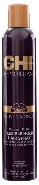 CHI Deep Brilliance Hairspray elastyczny lakier 284g