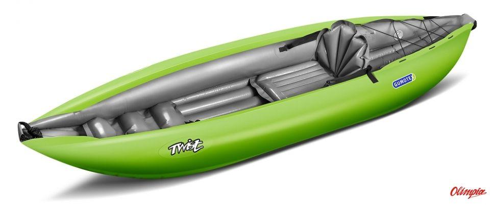 Kajak pompowany Gumotex Twist N 1 zielony
