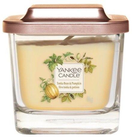 Yankee Candle Elevation Tonka Bean & Pumpkin świeczka zapachowa 96 g