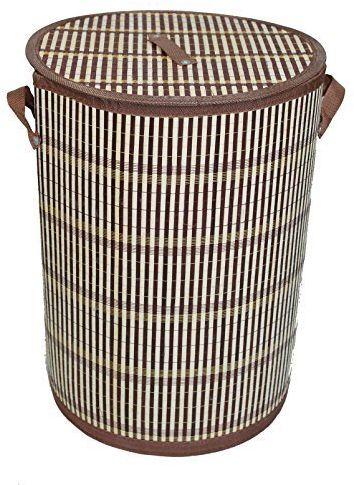 GMMH LN 49 Rio bambusowy kosz na pranie, składany, wysokość 50 cm