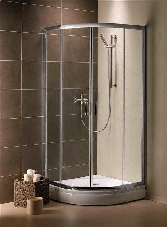 Kabina prysznicowa półokrągła Radaway Premium Plus A 85 szkło przejrzyste wys. 190 cm. 30420-01-01N