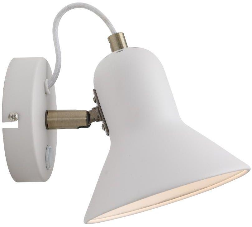 Kinkiet regulowany z włącznikiem Astama biały LP-1122/1W WH - Light Prestige Do -17% rabatu w koszyku i darmowa dostawa od 299zł !