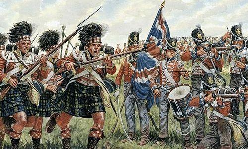 Italeri - 1:72 Napoleońska Brytyjska/Szkocki Niemowlę