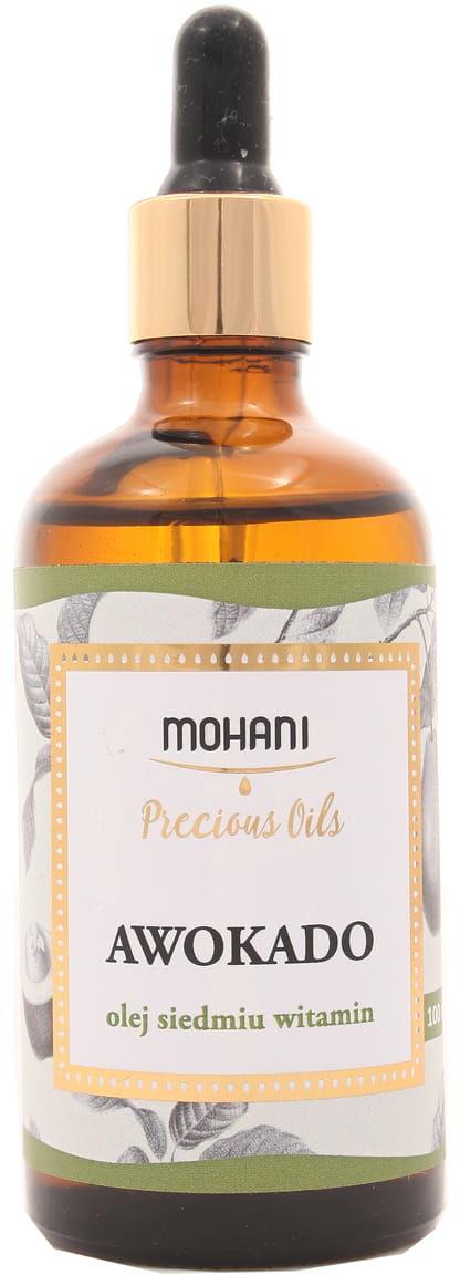Olej Awokado - olej siedmiu witamin - Mohani - 100ml