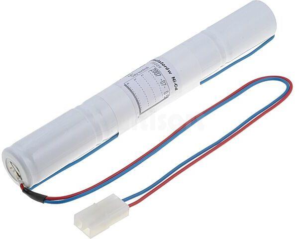 Akumulator R14(C) 4,8V Ni-Cd 2500mAh fi26x200mm Ilość ogniw 4