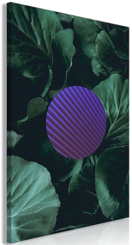 Obraz - botaniczna abstrakcja (1-częściowy) pionowy
