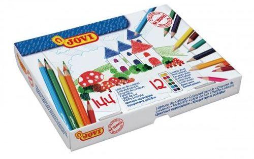 Kredki ołówkowe JOVI 12 kolorów (144szt) 739
