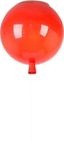 Baloon 25 - nowoczesna lampa sufitowa - balon 25cm czerwony