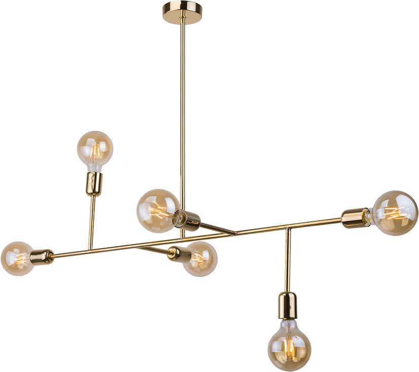 Lampa wisząca Dadim 0192 Amplex dekoracyjna oprawa w kolorze złotym