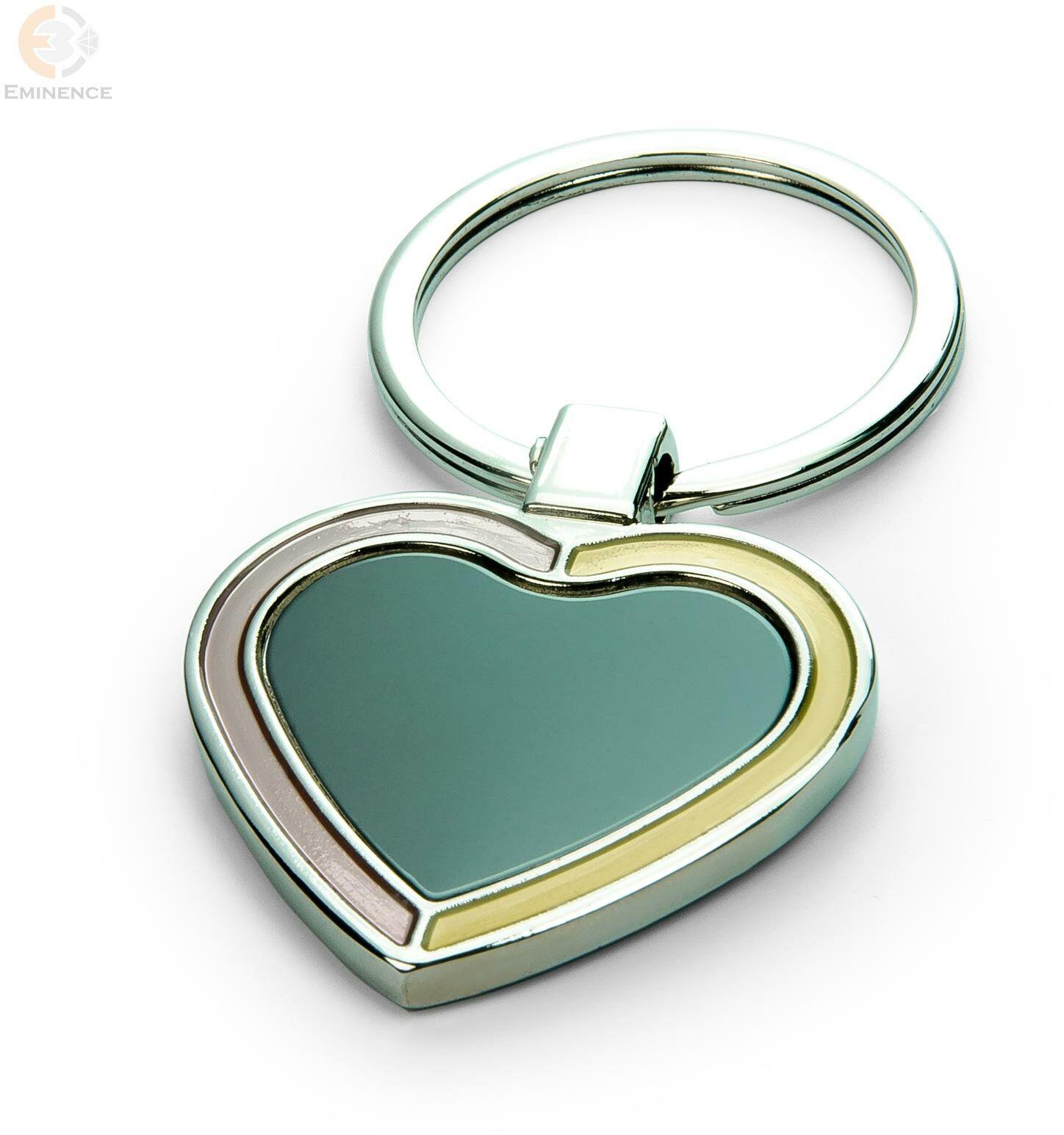 Brelok metalowy serce z Twoim grawerem