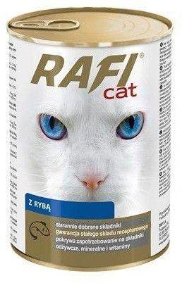 RAFI Cat Kawałki z rybą w sosie- puszka 415g