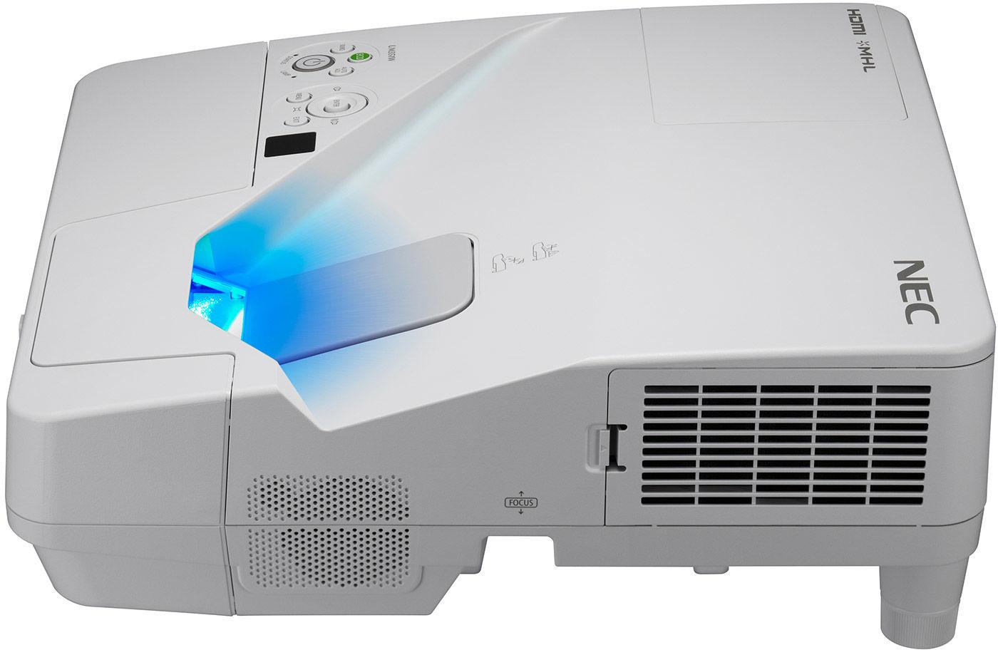 Projektor NEC UM351WG - DARMOWA DOSTWA PROJEKTORA! Projektory, ekrany, tablice interaktywne - Profesjonalne doradztwo - Kontakt: 71 784 97 60