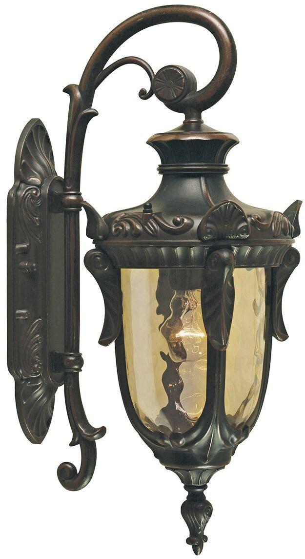 Kinkiet zewnętrzny Philadelphia PH2/M OB Elstead Lighting klasyczna oprawa w kolorze starego brązu