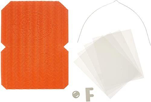 Ursus 1480041 - zestaw latarni Halloween, kwadratowy, pomarańczowy, ok. 13,5 x 13,5 x 18 cm, zestaw na latarnię, latarnie - część tłoczona z 3D - kolorowa tektura falista, idealna jako dekoracja stołu