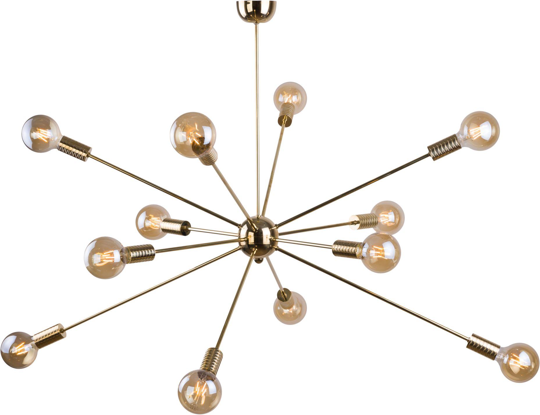 Lampa wisząca Danaia 0149 Amplex nowoczesna oprawa w kolorze złotym